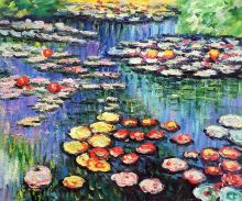 Water Lilies (pink) - 24