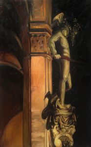 Statue of Perseus by Night, 1902