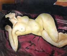 Nude Lying on the Back - 24
