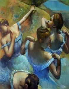 Blue Dancers - 20