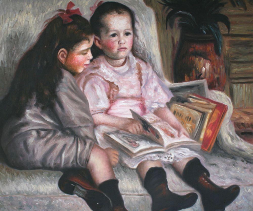 Portrait of Children(The Children of Martial Caillebot