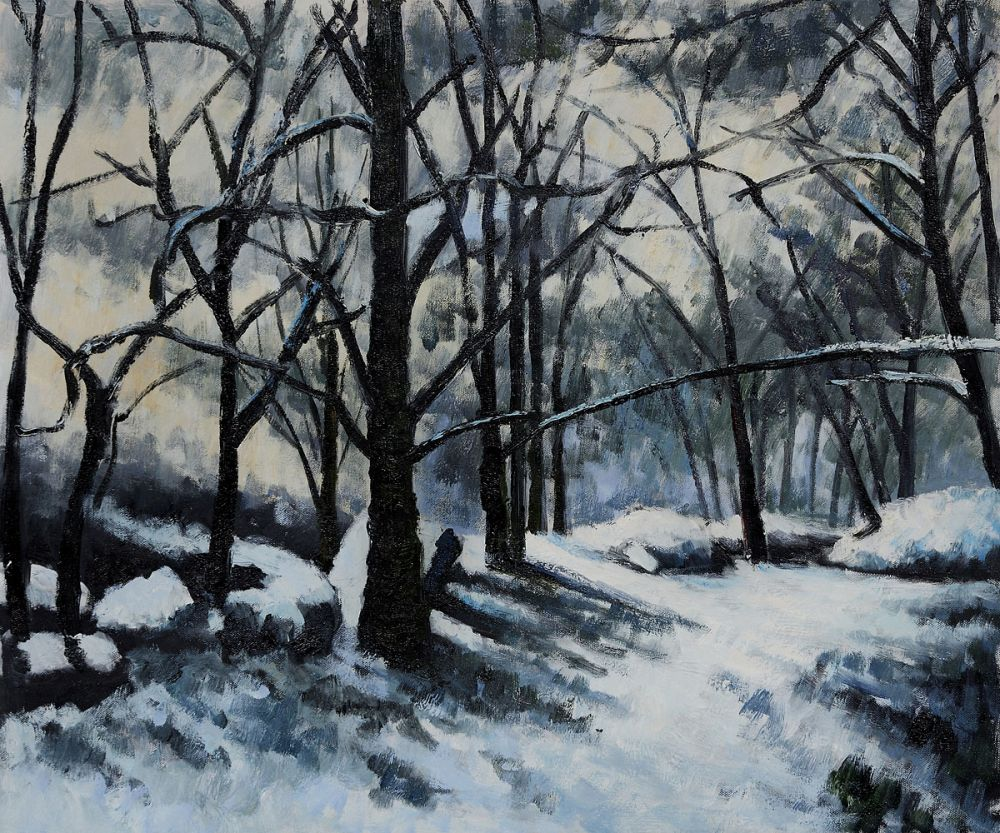 Melting Snow, Fontainebleau