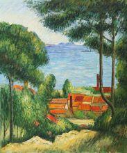View Through Trees, L'Estaque