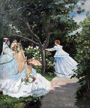 Women in the Garden, 1866