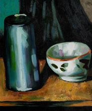 Still Life (Bowl and Milk Jug)