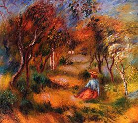 Le Jardin de la Poste, Cagnes, 1906