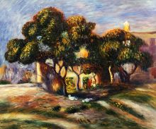 Medlar Trees, Cagnes, 1908