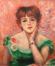 Jeanne Samary, La Reverie, 1877