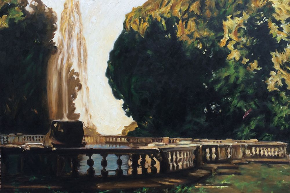 Villa Torlonia, Fountain, 1907