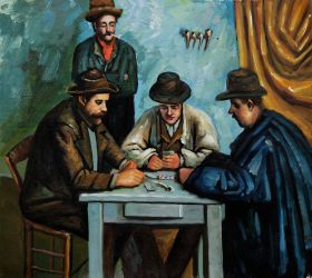 The Card Players - 24