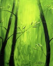 Bamboo at a Frog's View