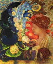Woman Among the Flowers, 1910