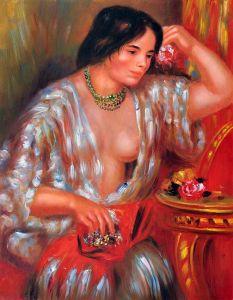 Gabrielle Wearing Jewelry - 20