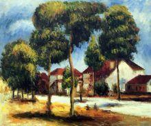 The Sunny Street, 1900