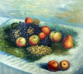 Pears and Grapes - 24