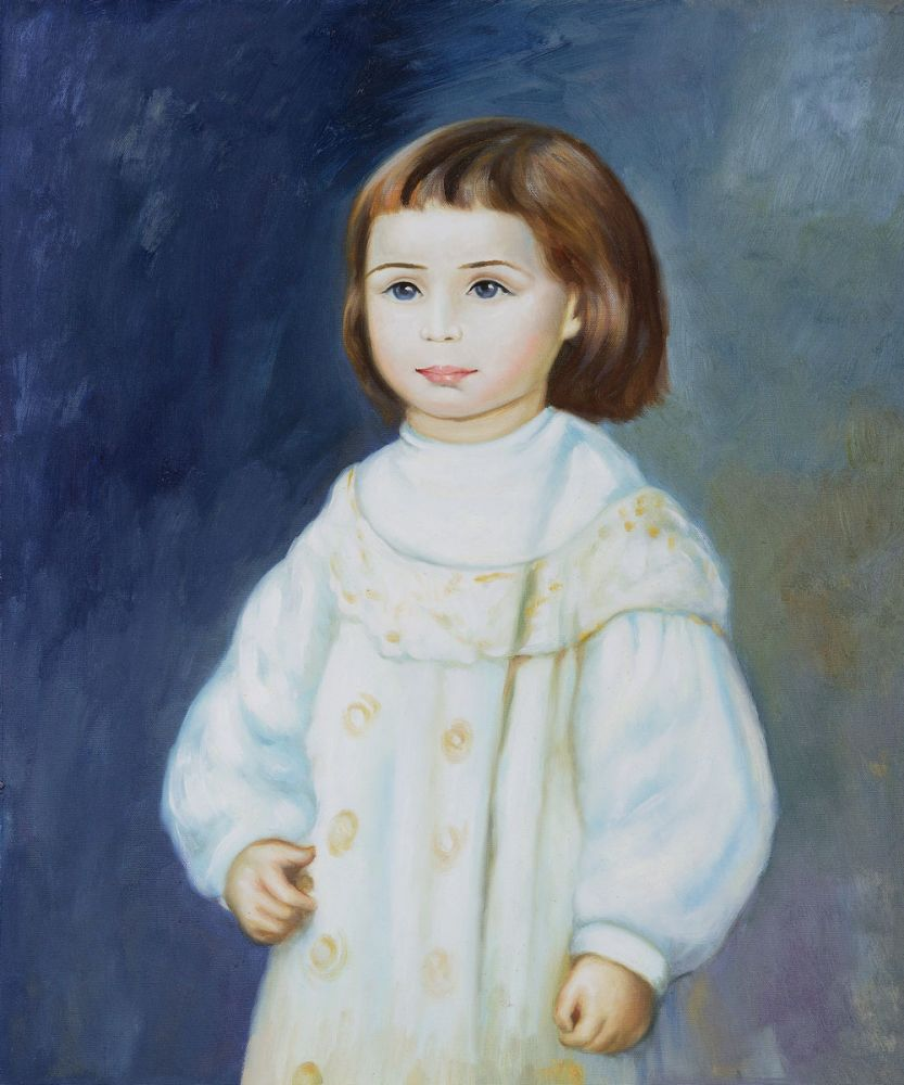 Lucie Berard (Child in White), 1883