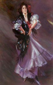 Portrait of Anita de la Ferie The Spanish Dancer, 1900