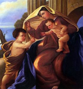 The Madonna with Child and Saint John the Baptist
