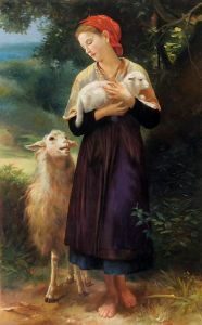 The Shepherdess, 1873