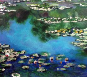 Water Lilies (Luxury Line)