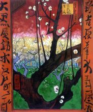 Flowering Plum Tree (After Hiroshige), 1887 - 20