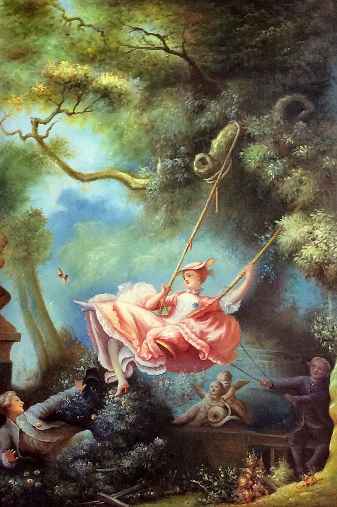 a painting analysis of fragonards swing Overall fragonard's the swing considered to be fragonard's most successful painting, the swing stands alone today as an emblem of the swing analysis the swing.
