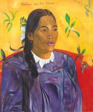 Vahine No Te Tiare (Woman with a Flower), 1891 - 20