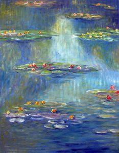 Nympheas at Giverny, 1908 - 20