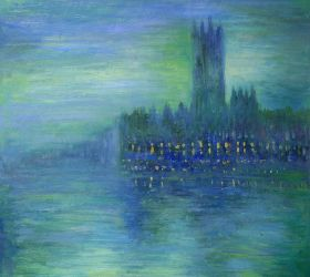Houses of Parliament, Fog Effect - 24