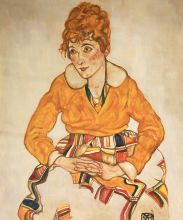 Portrait of the Artist's Wife, 1917