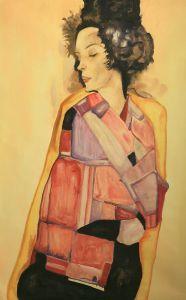 The Daydreamer (Gerti Schiele), 1911