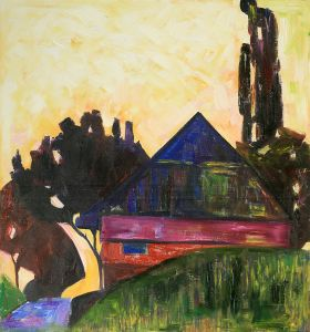 House Between Trees I, 1908 - 24