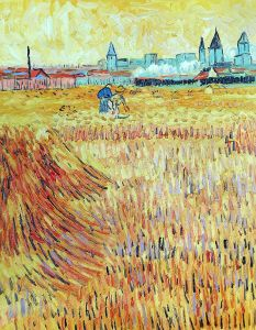 Wheat Field with View of Arles, June 1888 - 20