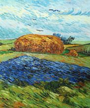 Haystack Under a Rainy Sky, 1890