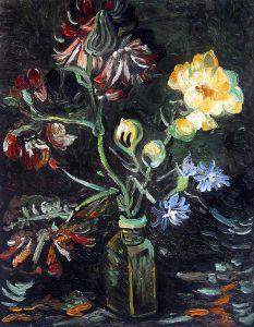 Vase with Myosotis and Peonies, 1886 - 20