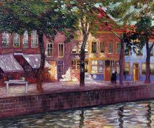 Canal in Zeeland, 1896-1899 - 24
