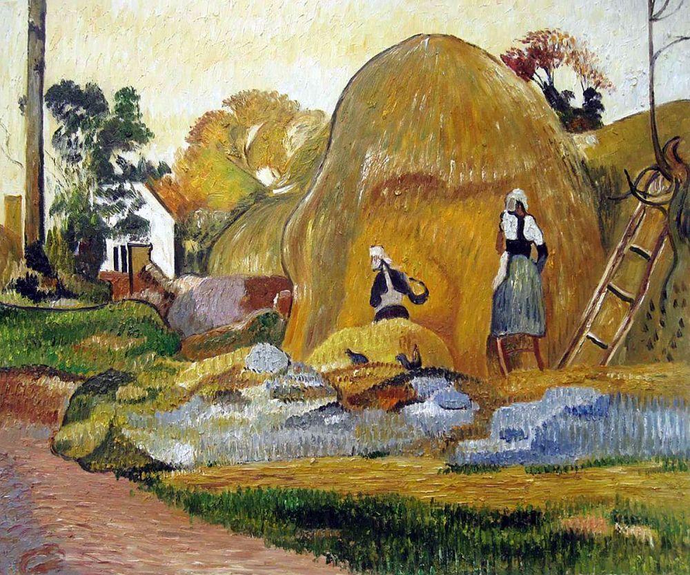 Yellow Haystacks (The Golden Harvest), 1889