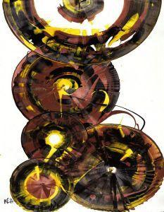 Sphere Series Painting 860121811