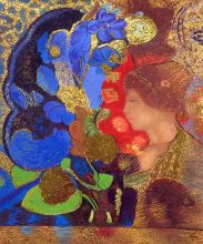 Woman Among the Flowers, 1910 (Luxury Line) - 20
