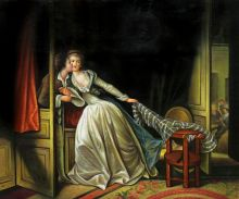 The Stolen Kiss, late 1780s