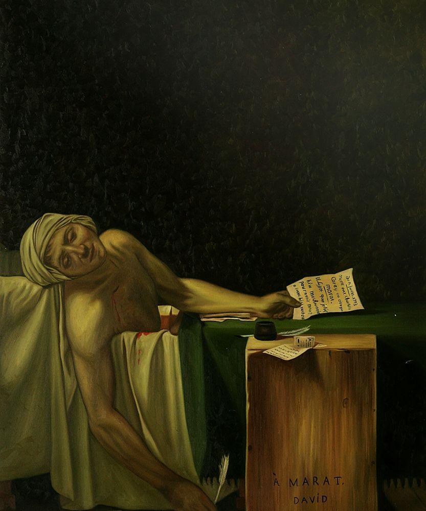 The Death of Marat, 1793