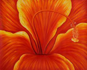 Golden Hibiscus (Right)