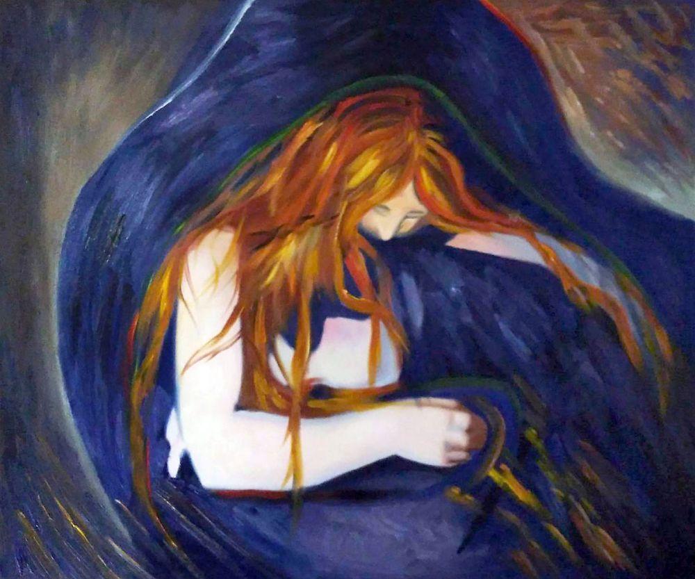 "Edvard Munch's ""Vampire""   Filling Spaces   Vampire Edvard Munch"