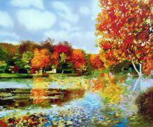 Autumn Landscape Reproduction