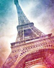 Modern Art, Paris Eiffel Tower I