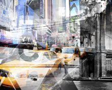 New York City, Geometric Mix No 9