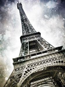 Modern Art, Paris Eiffel Tower Splashes