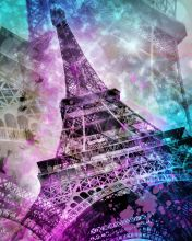 Pop Art, Eiffel Tower