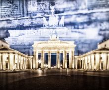 Berlin, Brandenburg Gate In Detail