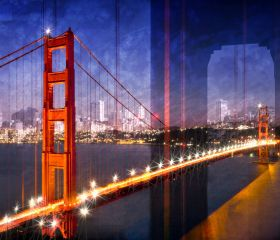 City Art, Golden Gate Bridge Composing